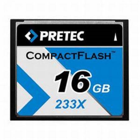 PRETEC CompactFlash 16GB 233x