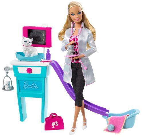 Mattel Barbie Asistentka veterinářky I Can Be cena od 0 Kč ...