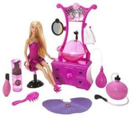Mattel Barbie kadeřnický salón cena od 0 Kč