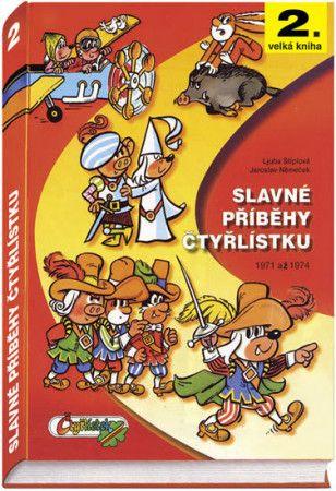 Jaroslav Němeček: Slavné příběhy čtyřlístku 1971-1974 - 2. velká kniha cena od 356 Kč