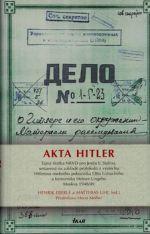 Eberle Henrik, Uhl Matthias: Akta Hitler cena od 0 Kč