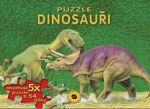 SUN Dinosauři Puzzle cena od 196 Kč