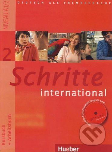 Kolektiv autorů: Schritte international 2 - Kursbuch + Arbeitsbuch mit Audio-CD cena od 312 Kč