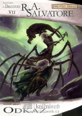 R.A. Salvatore: Temný Elf Drizzt 07 - Odkaz cena od 155 Kč