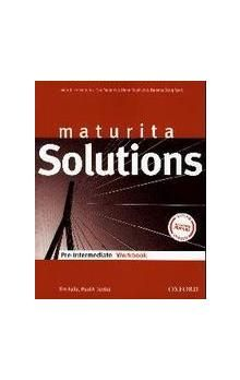Tim Falla: Maturita Solutions Pre-Intermediate Workbook CZ cena od 123 Kč