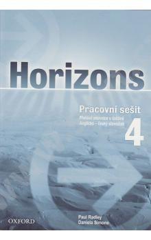 Paul Radley: Horizons 4 Workbook Czech Edition cena od 113 Kč