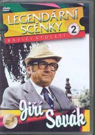 DVD Legendární scénky 2 - Jiří Sovák - DVD cena od 136 Kč