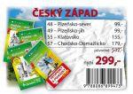 Český západ - Balíček průvodců (48-Plzeňsko-sever, 49-Plzeňsko-jih, 55-Klatovsko, 57-Chods cena od 0 Kč