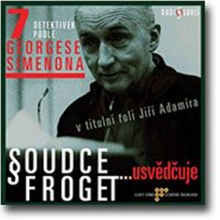 Georges Simenon: Soudce Froget usvědčuje (2 CD) cena od 167 Kč