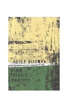 Alice Kliková: Mimo princip identity cena od 192 Kč