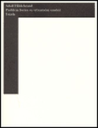 Adolf Hildebrand: Problém formy ve výtvarném umění cena od 188 Kč