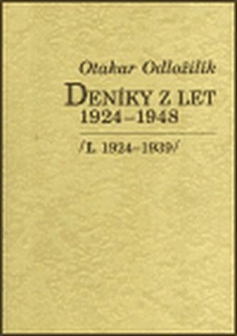 Otakar Odložilík: Deníky z let 1924-1948 I., II. cena od 407 Kč
