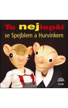 Helena Štáchová, Josef Skupa, Martin Klásek: To nejlepší se Spejblem a Hurvínkem 4CD - Helena Štáchová cena od 295 Kč