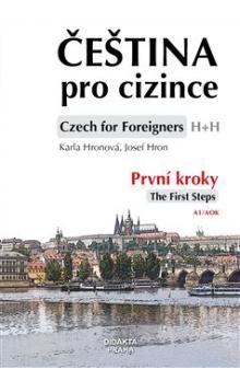 Karla Hronová, Josef Hron: Čeština pro cizince + CD. První kroky cena od 210 Kč