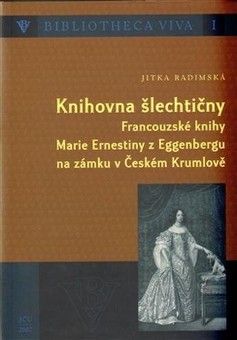 Jitka Radimská: Knihovna šlechtičny cena od 196 Kč