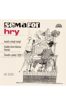 Jiří Suchý: Semaforské hry - Člověk z půdy - 6CD - Jiří Suchý cena od 516 Kč
