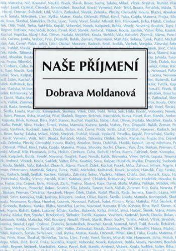Dobrava Moldanová: Naše příjmení cena od 175 Kč