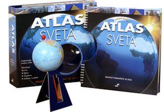 Sarah Levete: Atlas sveta - Sarah Levete cena od 387 Kč