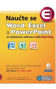 Jan Novák: Naučte se Word, Excel a PowerPoint - CD