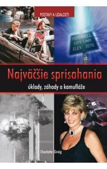 Charlotte Greig: Najväčšie sprisahania -úklady, záhady a kamufláže(séria Postavy a udalosti) cena od 244 Kč