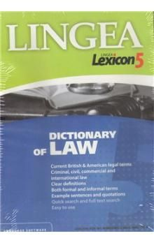 Lingea CDROM Dictionary of Law cena od 649 Kč
