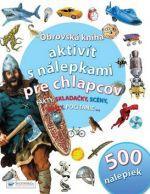 Svojtka Obrovská kniha aktivít s nálepkami pre chlapcov cena od 106 Kč