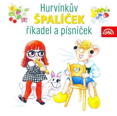 Helena Štáchová, Martin Klásek: Hurvínkův Špalíček říkadel písniček 2CD - Helena Štáchová cena od 185 Kč