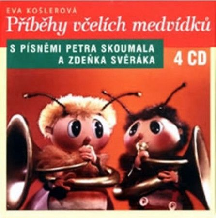 Eva Košlerová: Příběhy včelích medvídků 4CD cena od 295 Kč