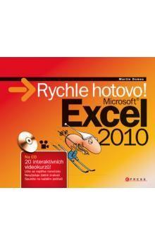Martin Domes: Microsoft Excel 2010 cena od 93 Kč