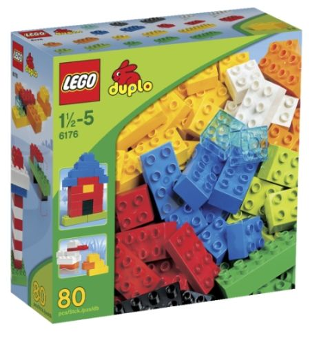 Lego Duplo kostky základní sada Deluxe 6176