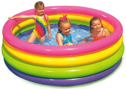 Intex Bazén čtyřkomorový