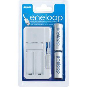 SANYO eneloop univerzální USB NiCd/NiMH