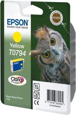 EPSON Ink SP1400 žlutá T0794