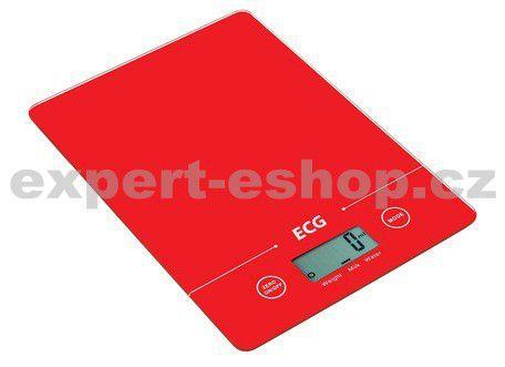 ECG KV 117 SLIM červená cena od 399 Kč