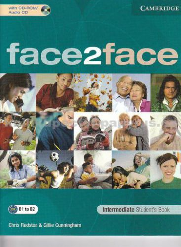 Cambridge university press Face2face Intermediate Student's Book with CD-ROM cena od 590 Kč