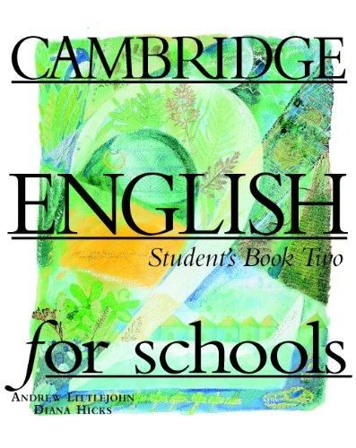 Cambridge university press Cambridge English for schools Student's book Two cena od 397 Kč