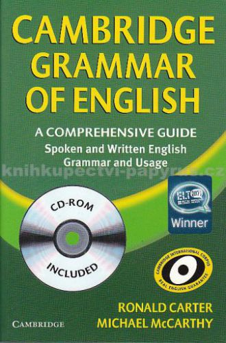 Cambridge university press Cambridge Grammar of English+CD cena od 983 Kč