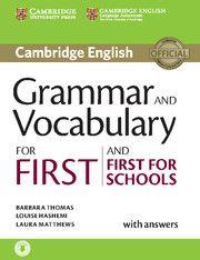 Cambridge university press Grammar for First Certificate with answers + CD cena od 719 Kč