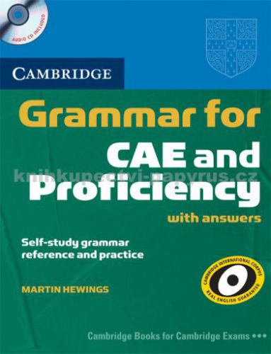 Cambridge university press Grammar for CAE and Proficiency with answers + CD cena od 899 Kč