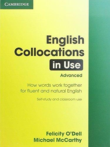 Cambridge university press English Collocations in Use - Advanced cena od 612 Kč