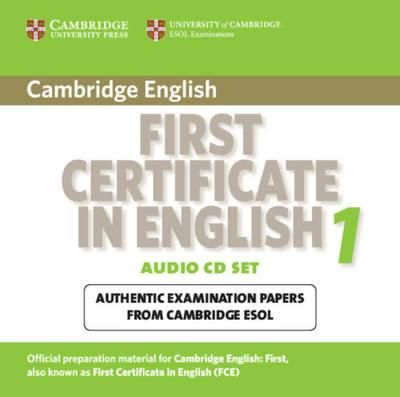 Cambridge university press CD First Certificate in English 1 cena od 627 Kč