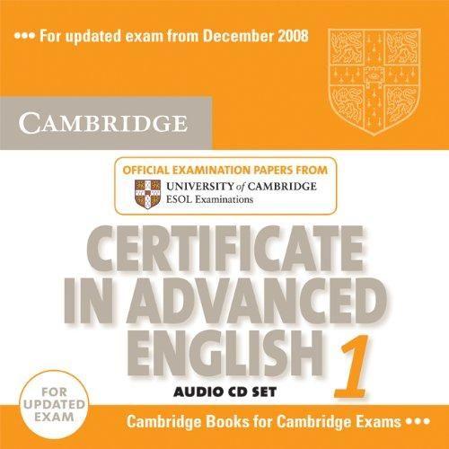 Cambridge university press CD Certificate in Advanced English 1 cena od 552 Kč