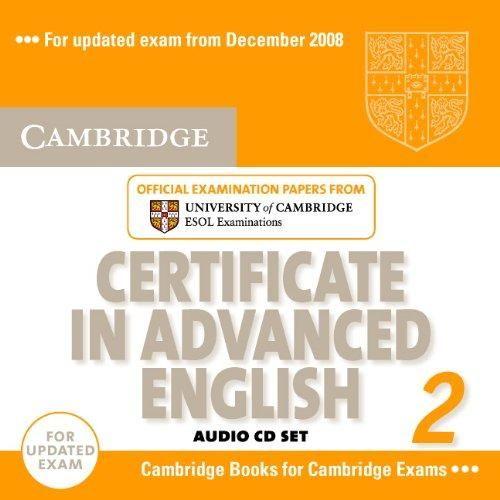 Cambridge university press CD Certificate in Advanced English 2 cena od 552 Kč