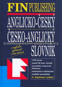 FIN Publishing Anglicko-český, Česko-anglický slovník cena od 545 Kč
