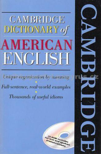 kol.: Cambridge dictionary of American English + CD cena od 459 Kč