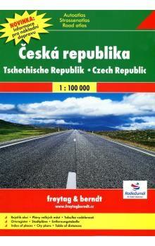 Autoatlas Česká republika 1:100 000 cena od 337 Kč