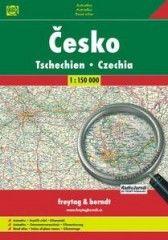 Freytag-Berndt Česká republika + Evropa autoatlas cena od 226 Kč