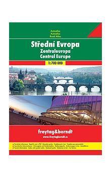 Freytag-Berndt Střední Evropa autoatlas cena od 220 Kč