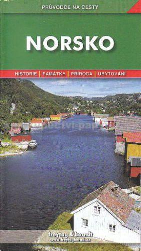 Freytag-Berndt Norsko průvodce na cesty cena od 222 Kč