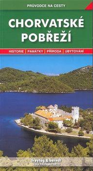 Freytag-Berndt Chorvatské pobřeží - průvodce na cesty cena od 200 Kč